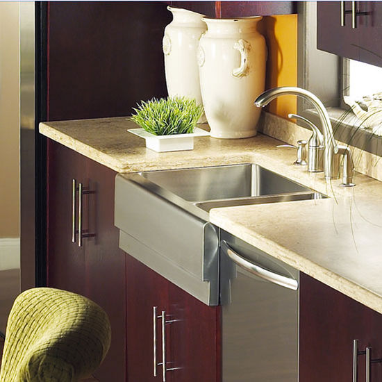Kitchen Sink Epicure Series Stainless Steel 70 30 Double