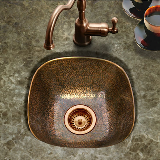 Houzer Hammerwerks Lager Bar Prep Sink