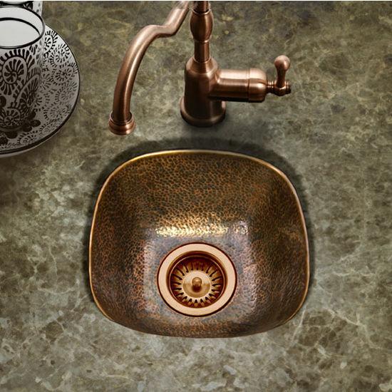 Houzer Hammerwerks Schnapps Bar Prep Sink