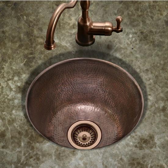 Hw Soho15 Hammerwerks Series Round Bar Prep Kitchen Sink