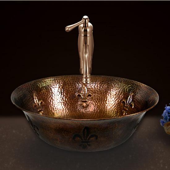 Houzer Hammerwerks Telluride Vessel Sink