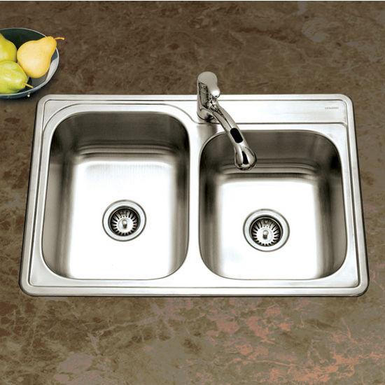 60/40 Topmount Double Bowl Sink