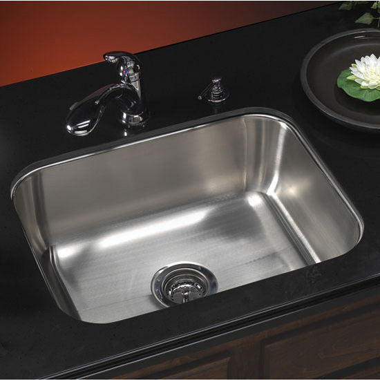Houzer Medallion Classic Series Undermount Single Bowl Sink