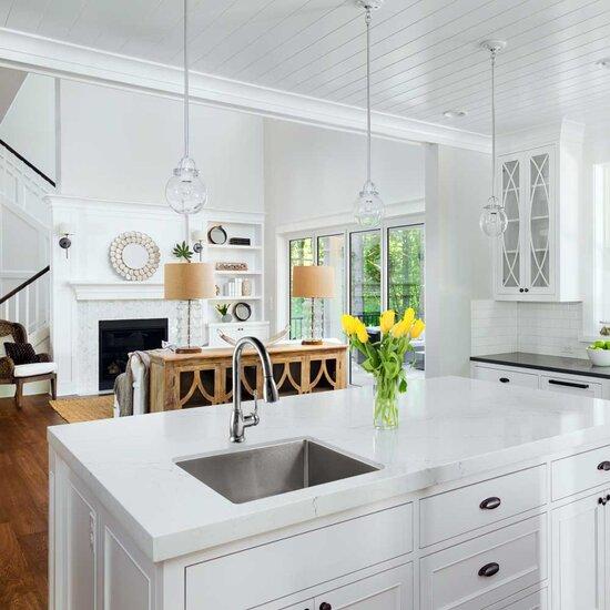 Nouvelle series undermount single bowl kitchen sink - Kitchen sink rim ...