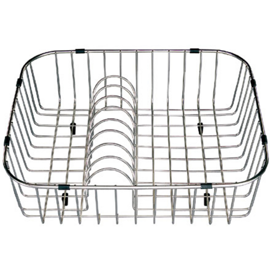 Houzer Rinsing Basket with plate rack