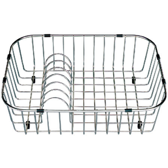 wirecraft rinsing basket by houzer for kitchen sinks