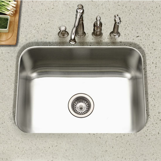 Houzer - Undermount Single Bowl Kitchen Sink