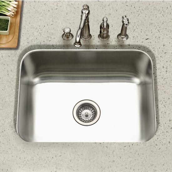 Houzer - Undermount Single Bowl Kitchen Sink