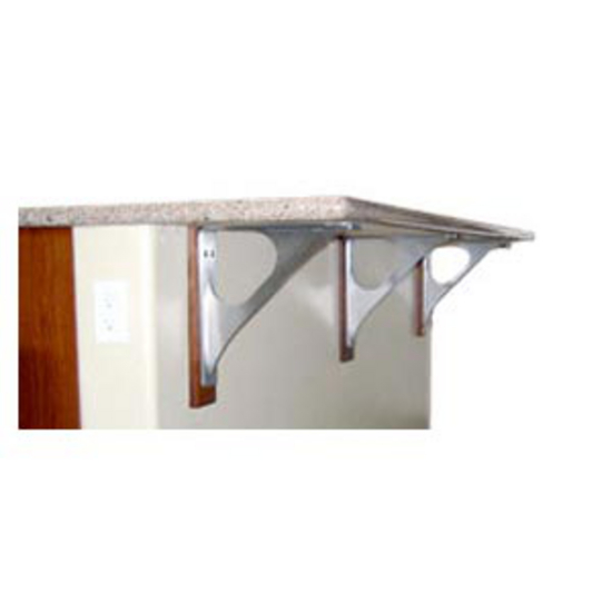 Federal Brace Federal Countertop Brace, Stainless Steel