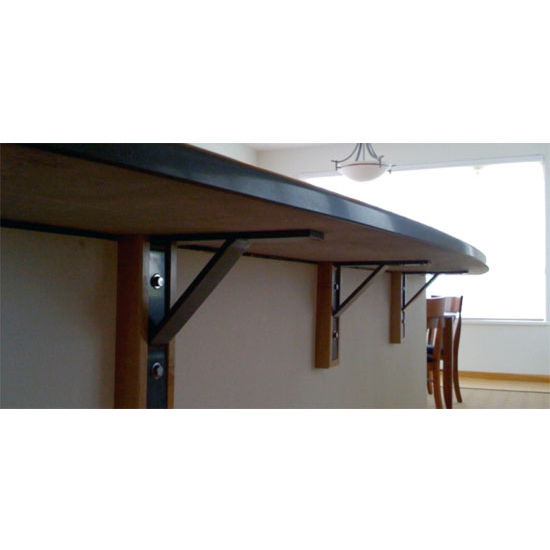 Granite brackets hidden countertop support brackets for for Granite counter support