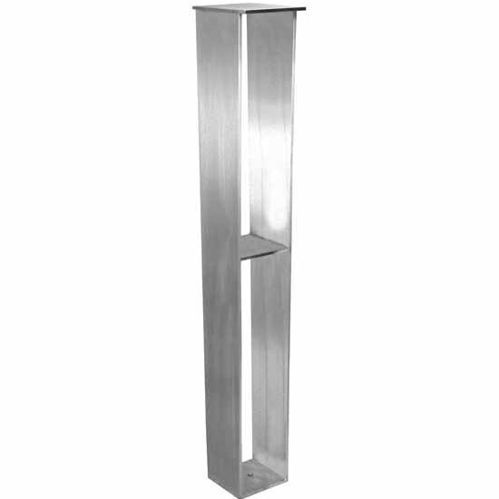 Federal Brace Regulus Steel Support Leg in Counter or Table Height for ...