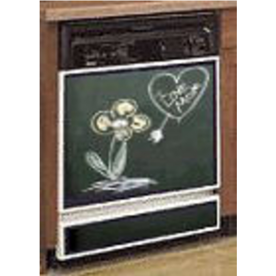 Wonderful Dishwasher Full Kit W/ Painted Trim, Chalkboard Panel, Available In Grey Or  Green (Painted Trim Are Available In: Back,.