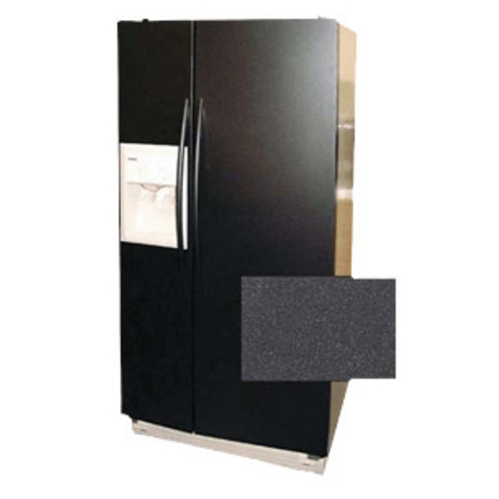 Stainless Craft Metallic Series Refrigerator Panels Color Series