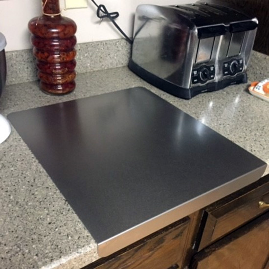 20 Gauge 304 Brushed Stainless Steel Cutting Boards With
