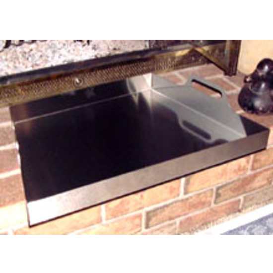 Stainless Steel Fireplace Ashtray