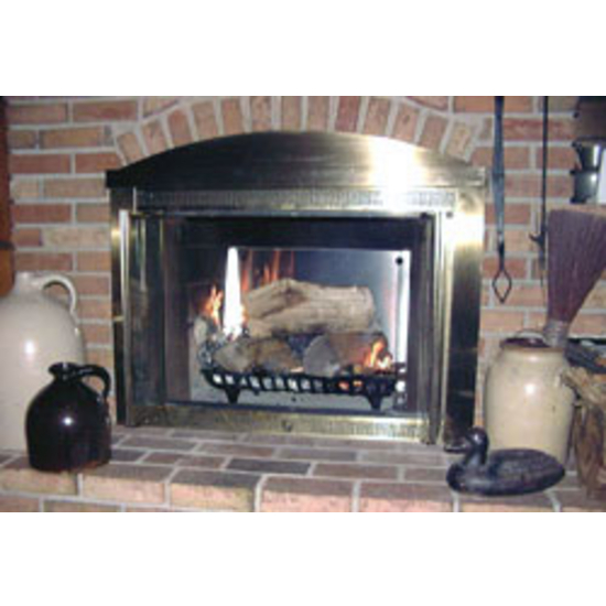 Freestanding Fireplace Heat Reflector