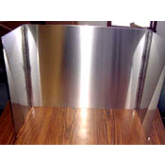 The stainless steel fully enclosed Fireplace Heat Reflector can generate 20% - 40% more heat .   Heat resistant Stainless Steel reflects and radiates the heat from your burning logs out into the room.