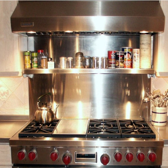 Famous Kitchen Backsplash: Vent Hood Wall Backsplash with Universal Cook  JM82