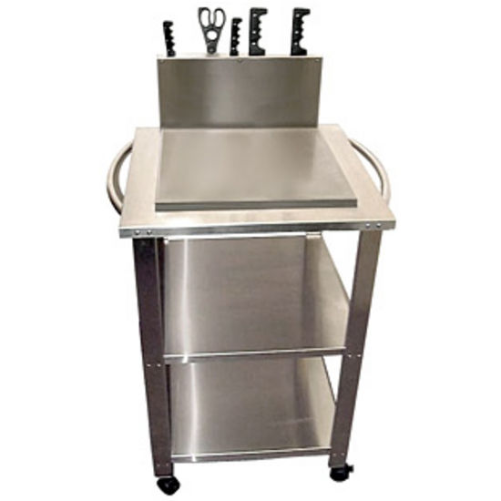 Stainless Steel Mobile Kitchen Cart