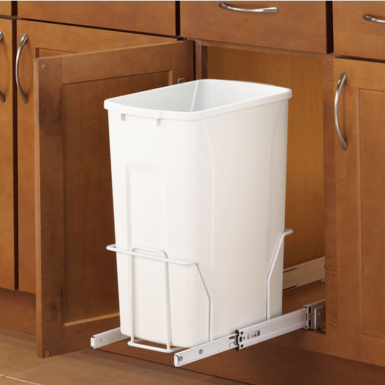 Knape & Vogt Standard Bottom-Mount Waste & Recycling Bins