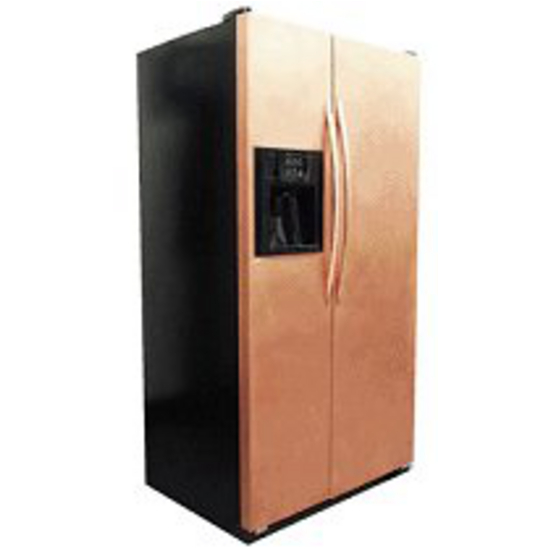 Copper Appliance Frame U0026 Panel Set