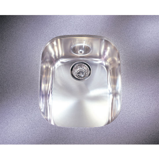 Kitchen Sinks - Compact Stainless Steel Single Bowl Undermount Sink ...