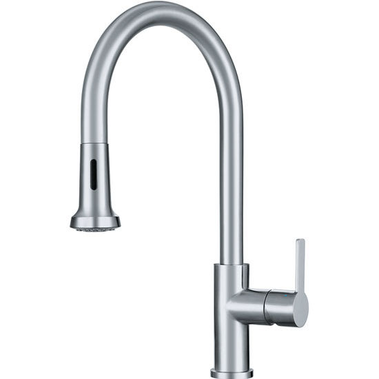 Franke Kitchen Faucet: Bernadine Pull Down Spray Kitchen Faucet, With Stainless