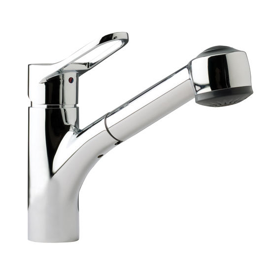 Franke Faucets : Kitchen Faucets from Franke - Heavy Duty Pullout Faucet with Dual ...