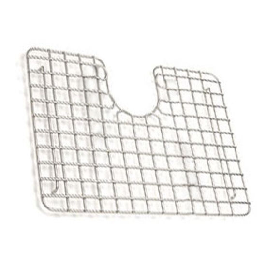Franke Kubus Coated Stainless Steel Bottom Grid