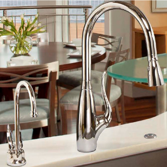 Kitchen Sinks Point Of Use Faucet Hot Water Dispenser In