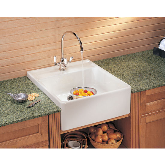 Fireclay Apron Front Sink : Kitchen Sinks, Kitchen Sink - Shop for Sinks at Kitchen Acccesories ...