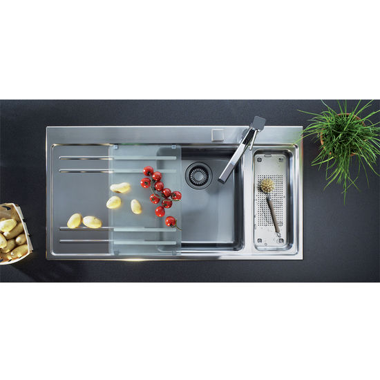 Kitchen Sinks Mythos Stainless Steel Double Bowl