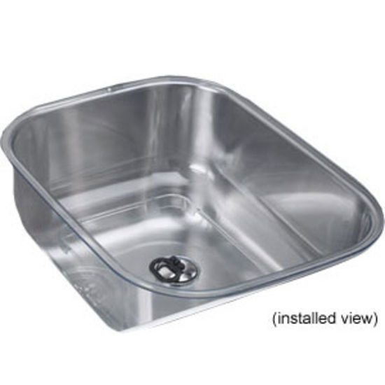 Utility Sink Accessories : Franke Oceania Frosted Synthetic Utility Bowl