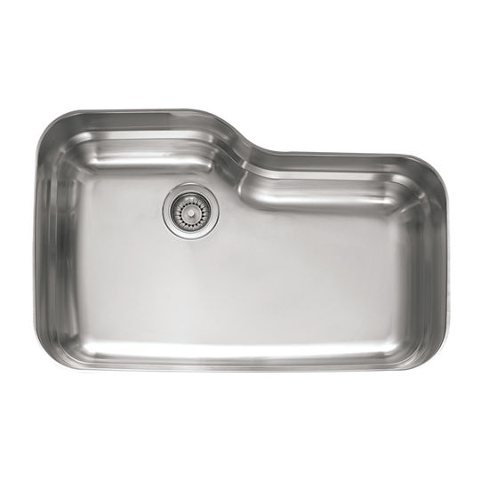 Franke Stainless Steel Sink : Sinks - Orca Stainless Steel Single Bowl Undermount Sink by Franke ...