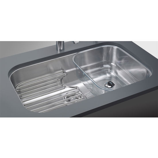 Franke Stainless Steel Sink : Sinks - Oceania Stainless Steel Single Bowl Undermount Sinks by Franke ...