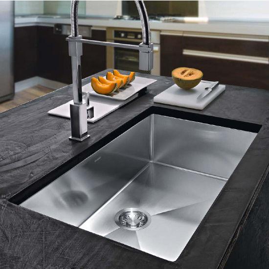 Franke planar 8 undermount kitchen sink in stainless steel productg illustration workwithnaturefo