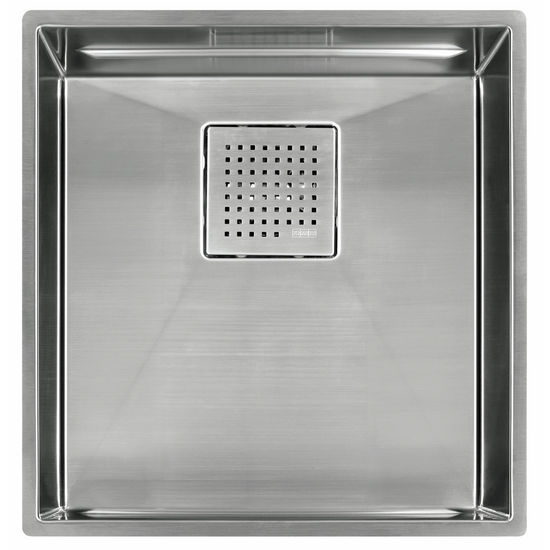 "Franke Peak 16"" Single Bowl Undermount Sink,16 Gauge, Stainless Steel, 16-7/8"" W x 17-3/4"" D"