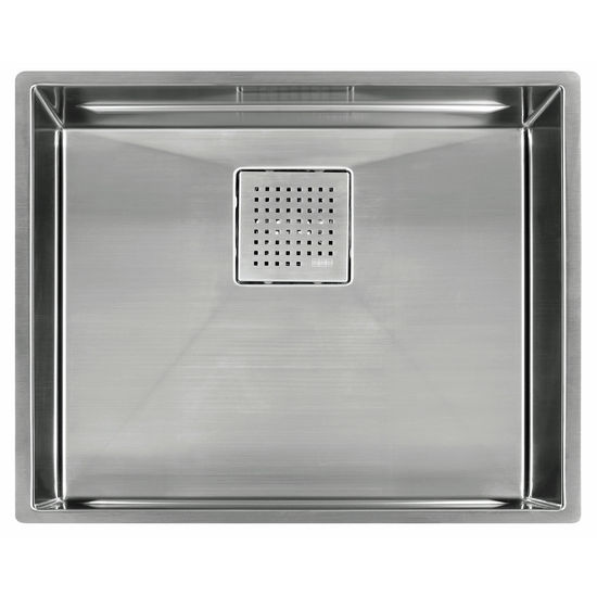 "Franke Peak 21"" Single Bowl Undermount Sink,16 Gauge, Stainless Steel, 23-13/16"" W x 17-3/4"" D"