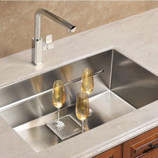 Kitchen Sinks - Peak 28\'\' Single Bowl Undermount Sink,16 Gauge ...