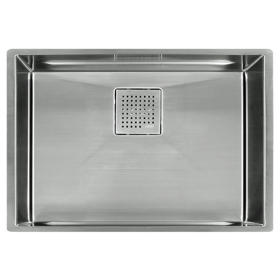 "Franke Peak 28"" Single Bowl Undermount Sink,16 Gauge, Stainless Steel, 28-3/4"" W x 17-3/4"" D"