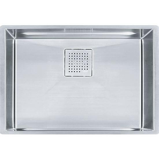 Franke Peak Large Single Bowl Undermount Kitchen Sink, Stainless Steel