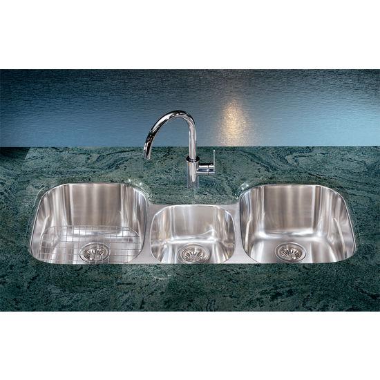 Kitchen Sinks Regatta Stainless Steel Double Bowl
