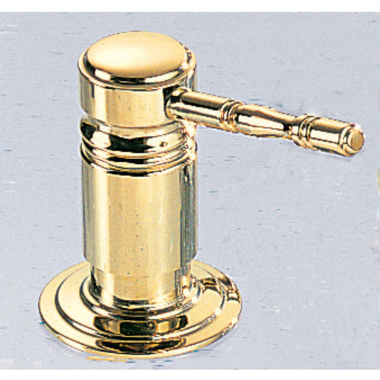 Franke Traditional Series Soap/Lotion Dispenser, NuBrass