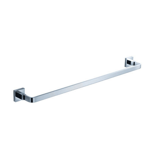 "Fresca Glorioso Wall Mounted 18"" Towel Bar in Chrome, Dimensions: 19-3/4"" W x 3"" D x 1-5/8"" H"