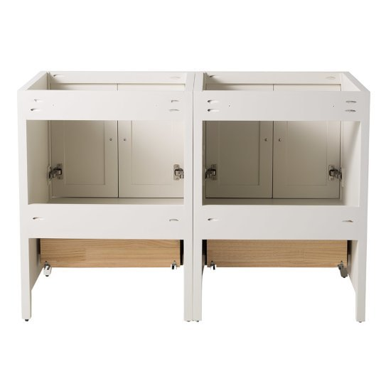 Oxford 48 Traditional Double Sink Bathroom Vanity Set By