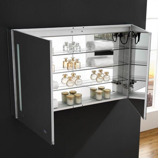 Tiempo 48 39 39 wide x 30 39 39 or 36 39 39 tall bathroom medicine - Bathroom medicine cabinets with led lights ...