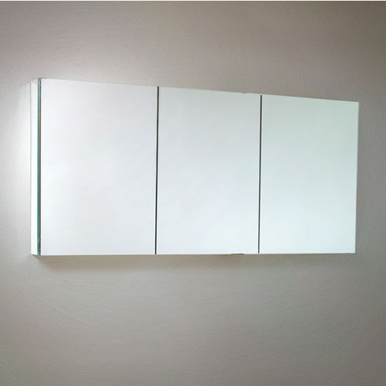 """Fresca 60"""" Wide Bathroom Wall Mounted Medicine Cabinet with Mirrors, Dimensions: 59"""" W x 26"""" H x 5"""" D"""