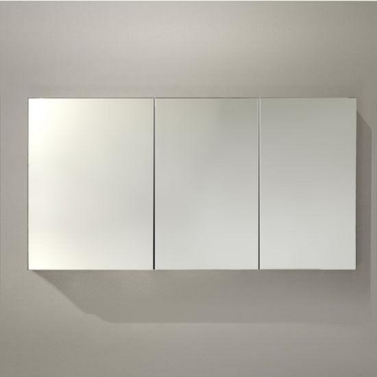 60 39 39 wide bathroom wall mounted medicine cabinet w - Wall mounted mirrored bathroom cabinet ...