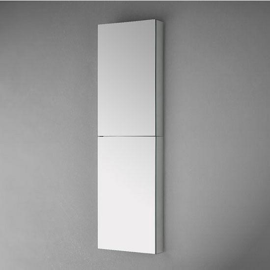 52 Tall Bathroom Wall Mounted Medicine Cabinet W