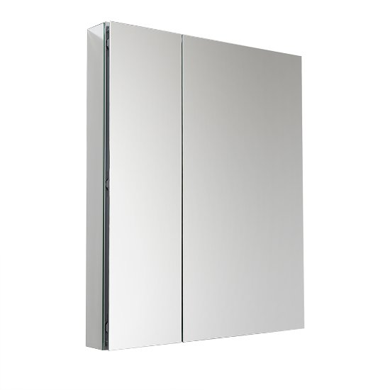 View Larger Image  sc 1 st  KitchenSource.com & 30u0027u0027 Wide x 36u0027u0027 Tall Anodized Aluminum Bathroom Medicine Cabinet w ...